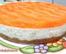 CHEESE CAKE DI RICOTTA AL MELONE