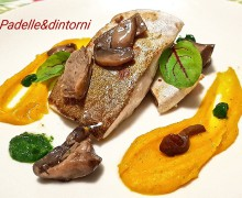RICCIOLA AUTUNNALE ricetta dello Chef Giampaolo Fraiola del ristorante Theo Fish