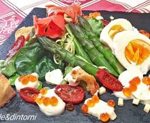ASPARAGI CON UOVA E UOVA ( da una rivisitazione della ricetta dello Chef Simona Benetti del ristorante Battipalo)