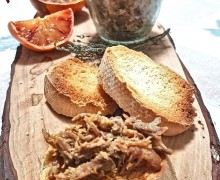 RILLETTES DE CANARD À L'ORANGE